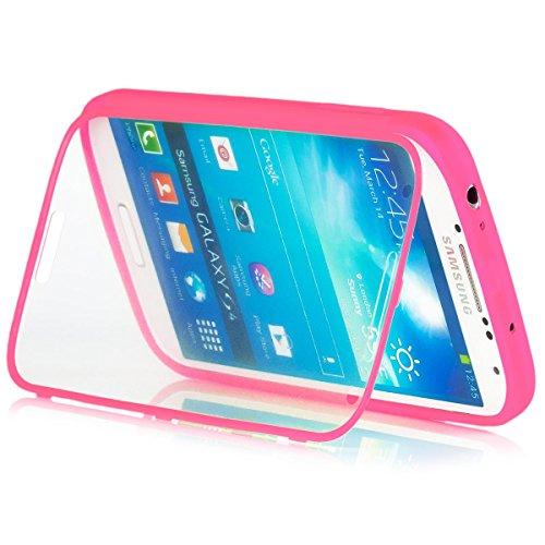 Samsung Galaxy S4 | iCues táctil TPU Rosa | Caso duro al...