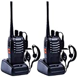 2PCS Nestling 888S USB Rechargeable Walkie Talkies Long Range Two-Way Radio 16CH Walky