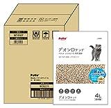ペティオ 猫システムトイレ用 トイレに流せる猫砂デオンDサンド 4Lx6個