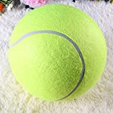 Groten Tennis Ball Kugel große riesige Hund Welpen Thrower Chucker Launcher Spielen Spielzeug C5 24CM - 8