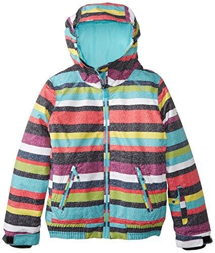 Roxy - Abrigo impermeable - para niña Antracita T14