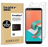 iVoler [Pack de 2] Verre Trempé pour ASUS Zenfone 5 Lite ZC600KL 6.0 Pouces, Film Protection en Verre trempé écran Protecteur...