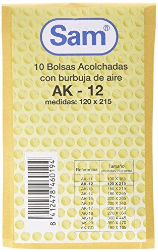 SAM 12 - Bolsa de burbujas, 10 unidades