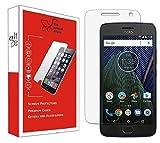 Efficia Premium Tempered Glass Screen Protector for Motorola Moto G5 Plus [flexible] [Gorilla] Bubble Free Installation [Screatch proof] [Guard]
