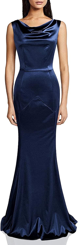 MUXXN Women's 30s Brief Elegant Mermaid Evening Dress