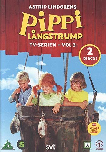 2 DVD Astrid Lindgren SCHWEDISCH/SWEDISH - Pippi Långstrump Langstrumpf TV-Serie Vol. 3