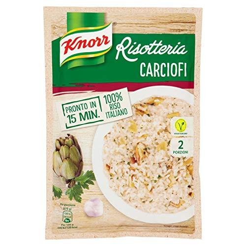 Knorr Risotteria Carciofi, 2 Porzioni Pronte in 15 Minuti, 175g