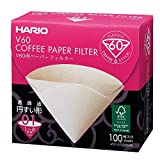 Hario 100 Hojas en Caja VCF-01-100 MK 1-2 Tazas V60 para el Filtro de Papel M (jap?n importaci?n)