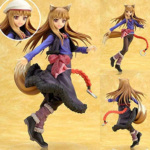 Anime Characters Model Spice and Wolf Wedding Holo Dress Action Figure 10th Anniversary PVC Action Figure Toy Collectibles Souvenirs Gift Doll 20cm