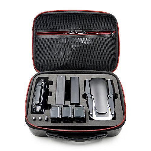 GEZICHTA Wasserdicht Fall Tragbar Hand Tragetasche PU Koffer Aufbewahrungstasche für DJI Mavic Air Drone Zubehör