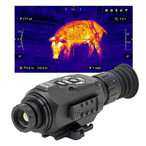 theOpticGuru ATN Thor-HD 640x480, 1-10x Thermal Scope with HD Video rec, Smooth Zoom, Bluetooth and Wi-Fi (Streaming, Gallery & Controls)