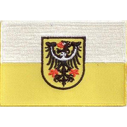 Everflag Patch zum Aufbügeln oder Aufnähen : Niederschlesien - Groß