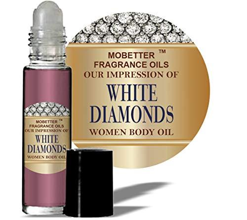 Mobetter Fragrance Oils Our Impression of White Diamonds for Women Body Oil