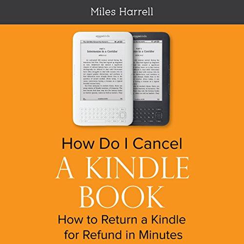 Kindle Book Cover Art ~ How do i cancel a kindle book audiobook miles harrell