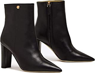 Penelope 90mm Calf Leather Bootie