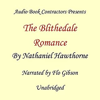 The Blithedale Romance audiobook cover art