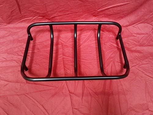 Powder coated top Surprise price Outlet ☆ Free Shipping rack. TOURING RACK TRUNK LUGGAGE MOTORCYCLE FO