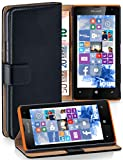 MoEx Book-style flip case compatible with Microsoft Lumia