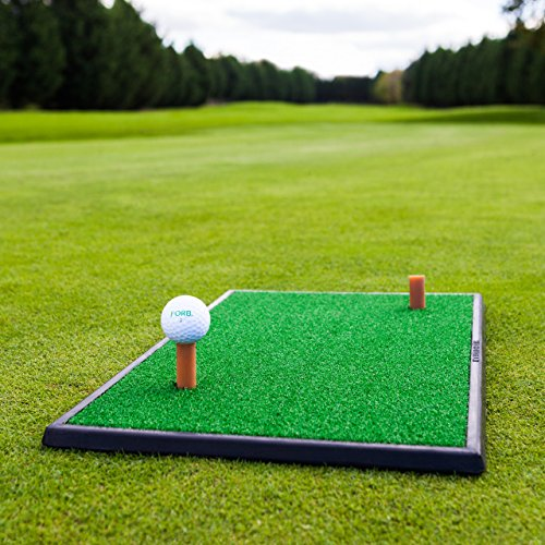 FORB Tapis d'Entraînement Golf – Launch Pad Tapis de Golf (Choix de Deux Options) (Tapis de...
