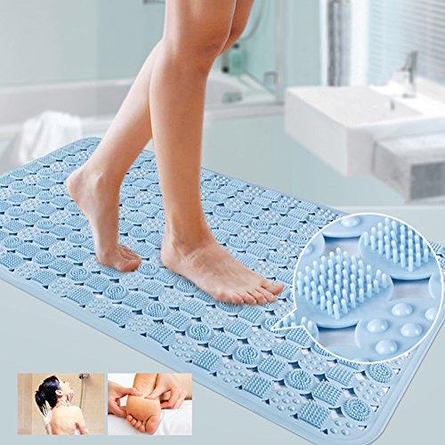 Blue Canyon bain douche clair Pebble Anti Glisse tapis moquette 36 cm x 69 cm