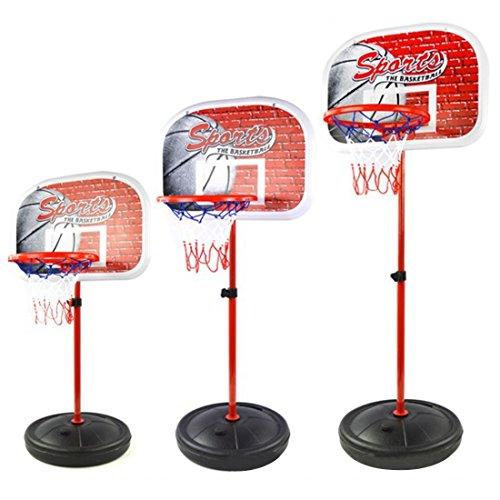ColiCor Aro de Baloncesto para niños, 80-165CM Canasta Aro de Baloncesto Ajustable con inflador, Juego Familiar