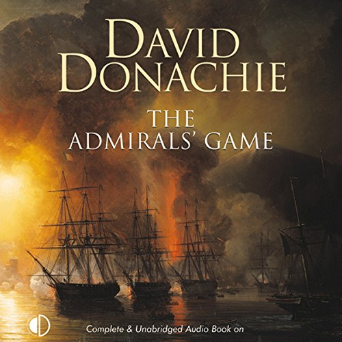 The Admirals' Game audiobook cover art