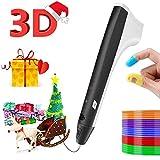 Dalina 3D Pen, Intelligent 3D Printing Pen, USB Charging, Simple Handled 3D Printer Pen for Your...