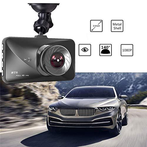 QXHELI Autokamera Weitwinkel Dash Cams Für Autos Full HD Auto-Fahrenrecorder-Nachtsicht-Auto-Kamera-Loop-Aufnahme Bewegungserkennung G-Sensor Parken-Monitor WDR