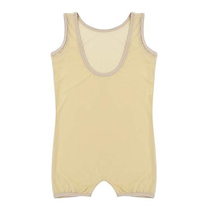 iiniim Herren Body Overall Boxershorts Einteiler M/ännerbody Unterhemd /Ärmellos Shirt Tops Reizw/äsche Unterw/äsche M-XL