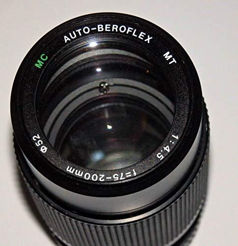 Objektiv - MC Auto-BEROFLEX MT f=75-200mm 1:4.5 Ø52mm - mit M42 Gewinde u.a. für PRAKTICA Kameras geeignet - Sammlerstück