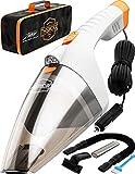 ThisWorx Car Vacuum Cleaner - LED Light, Portable, High Power Handheld...