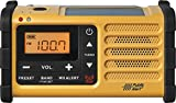 Best Solar Radios - Sangean MMR-88 AM/FM/Weather+Alert Emergency Radio. Solar/Hand Crank/USB/Flashlight, Siren Review