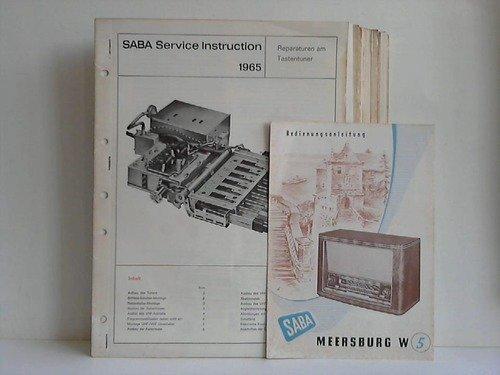 38 Service-Instructions (Anleitungen), Ersatzteillisten und Service-Schaltbilder für Radio-Geräte