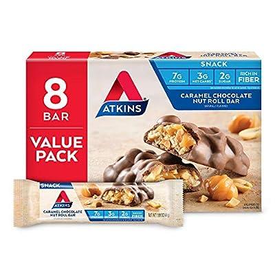 Atkins Advantage Snack/Light Meal Bars, 5 Count