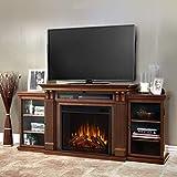 Real Flame Calie Media Fireplace, Large, Dark Espresso