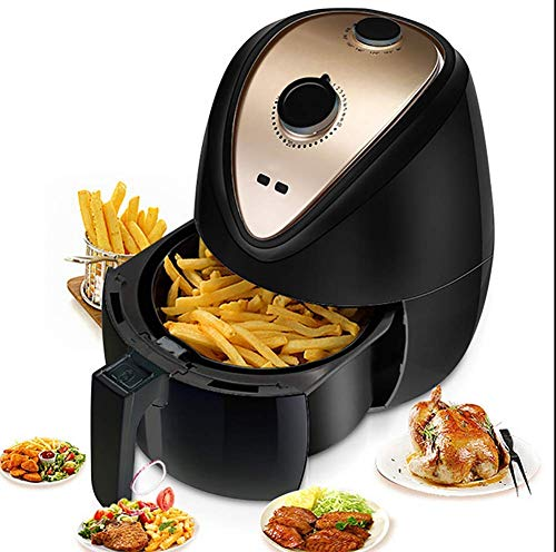 MLTYQ Air Fryer, 2.6 L Electric Air Fryer Oven Cooker with Temperature Control, Non Stick Fry Basket Non-Stick Coating Liner Fryer