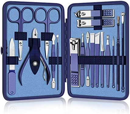 Manicure Set Nail Clipper Kit Professional Pedicure Kit 18pcs Stainless Steel Nail Cutter Set product image