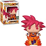 Funko Pop Animation : Dragon Ball Super - SSG Goku (2020 Exclusive) 3.75inch Vinyl Gift for Anime Fa...