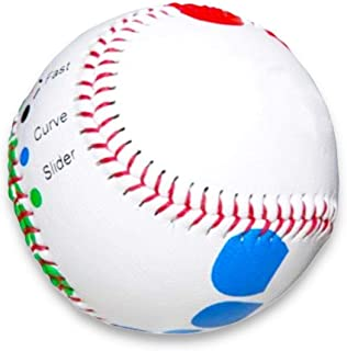 Baseball Pitching Trainer Kit Bundle -- Pitch Training Baseball with Detailed Grip Instructions