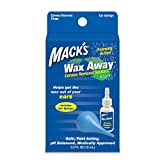 Macks Wax Away Earwax Removal System with Bulb Syrings (Pack of 2)