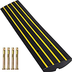 professional Rubber slope for Happybuy vehicles 2.5 inch high high performance high speed slope of 22,000 pounds …