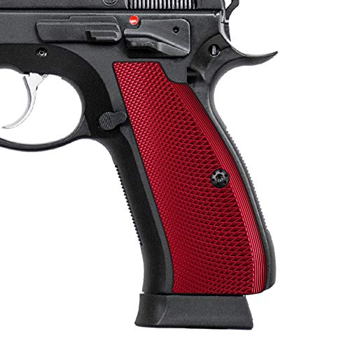 Cool Hand Aluminum Grips for CZ 75 Full Size, CZ 75 SP-01 Series, Shadow 2, 75B BD, Screws Included, SP1-PN-AR