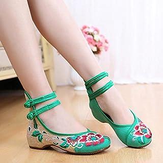 cc192947f4 zhuotop Chic Popular New transpirable zapatos de bordado chino estilo  Dichotomanthes inferior Casual zapatos de plano