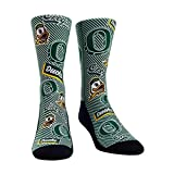 NCAA Super Premium College Fan Socks (Kids, Oregon Ducks - Logo Statement)