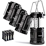 Vont 4 Pack LED Camping Lantern, LED Lanterns, Suitable Survival Kits...