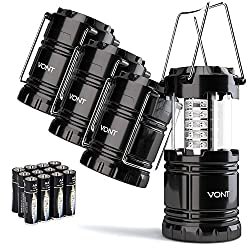 Camping Lanterns | 9 Basic Camping Gear Essentials from Amazon | Slashed Beauty