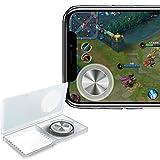 VSuRing モバイルジョイスティック 第5人格 PUBG Mobile 荒野行動 FPS エフピーエス 移動操作用パッド 吸盤式 真空吸着 手汗対策 超薄型 タッチスクリーン iPhone Xperia & Android タブレット 等対応 収納ケース クロス付 (ブラック)