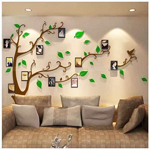 DX Family LGQ-ZW 3D Muursticker Fotolijst Muurstickers Home Art Decoratie TV Bank Achtergrond muur Stereo Muursticker
