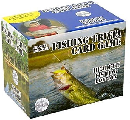 Deadeye Fishing Trivia Card Game by Deadeye Hunter Trivia