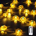 Huttoly Fall Decorations Halloween Decorations Pumpkin String Lights